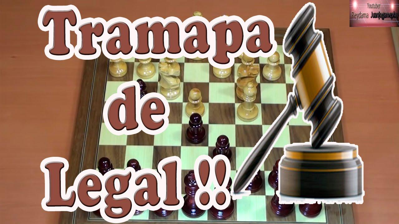 Trampa de Legal | Jaque Mate de legal | Celada de ajedrez