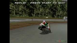 Castrol Honda Superbike Racing - Gameplay PSX / PS1 / PS One / HD 720P (Epsxe)