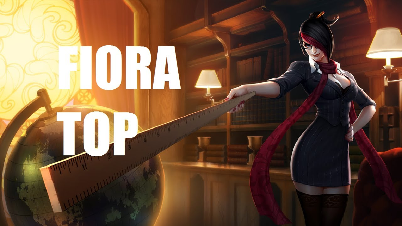 League Of Legends Headmistress Fiora Top Full Game