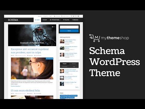 Schema WordPress Theme Setup Tutorial