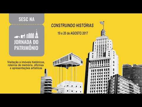 Patrimônio Industrial de São Paulo  Sesc na Jornada do Patrimônio