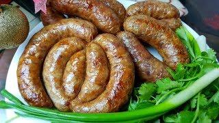 Утиная колбаса, цыганка готовит. Домашняя колбаса из птицы. Gipsy cuisine.🍗👍