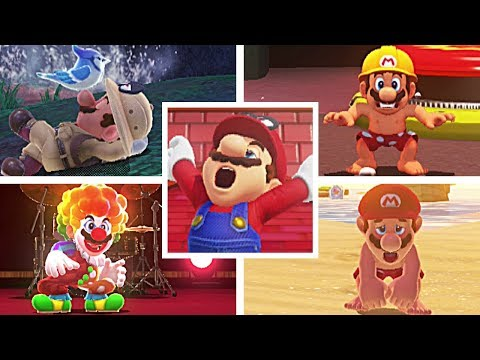 Super Mario Odyssey: BEST/FUNNIEST Idle Animations (Easter Eggs)