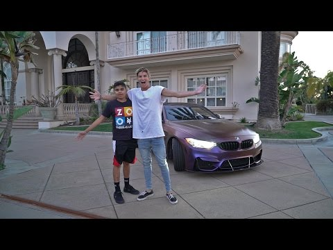 INSANE MANSION POOL...SURPRISING A FAN!