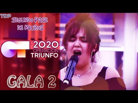 Ot 2020 L Top Ranking Segundo Pase De Micros Gala 2 Pika Youtube