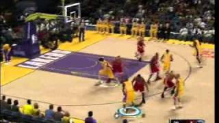 NBA 2K11 gameplay Bulls- Lakers