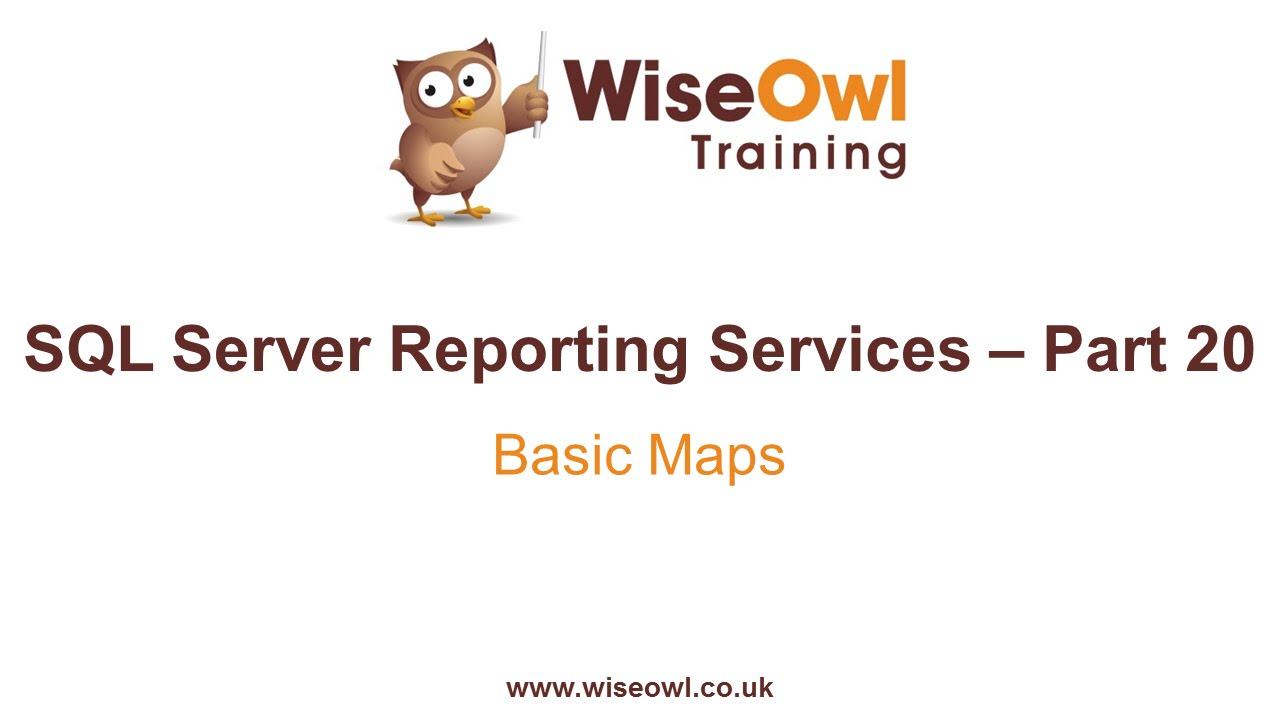 Reporting Services SSRS Part Basic Maps YouTube - Ssrs us map