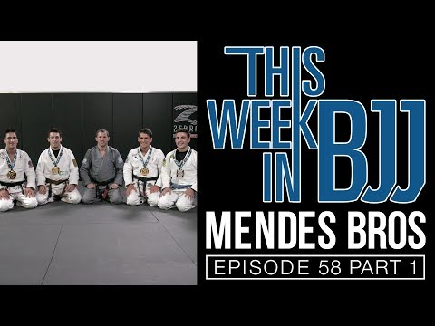 This Week in BJJ Episode 58 with the Mendes Brothers, Rick Slomba and Mason Monsevais 1 of 2