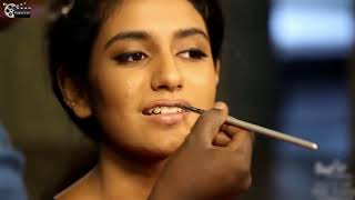 Priya Prakash Varrier Makeup Secret Revealed   Ugly to Beautiful