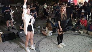 20190801 홍대 버스킹 공연 댄스팀 클락 제니 솔…