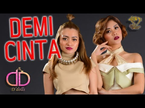D'DOLLS - DEMI CINTA (RECYCLE Alm. MIKE MOHEDE) - BTS PHOTO SHOOT VIDEO #Indonesia #terbaru