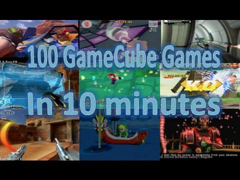 100 GameCube Games in 10 minutes