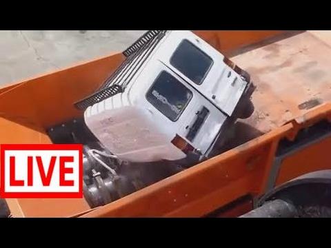 Latest Modern Technology Machines Shredding Solid Waste 2017 #JAR
