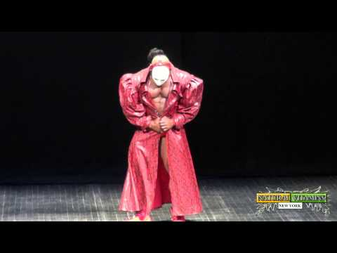 IFBB Pro Kai Greene Guest Posing at the 2015 NPC Victor Martinez Legends Championships