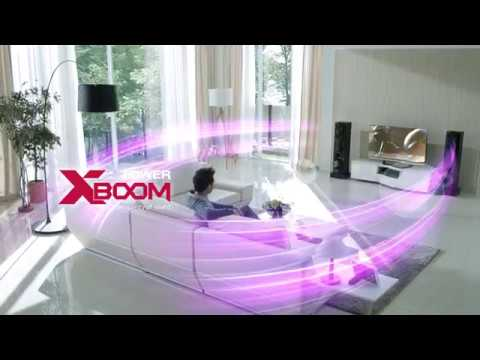 LG X Boom | Blu-ray Disc Sound tower Home Theatre system | Audio Systems