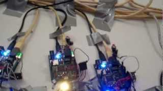A demo of a home security system built with 11 Netduinos and Windows Azure