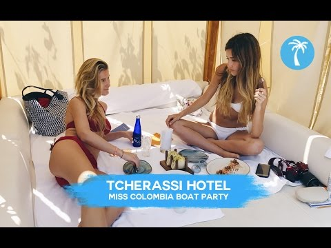 MISS COLOMBIA BOAT PARTY  + TCHERASSI HOTEL CARTAGENA / RoviTravel By MonRovi