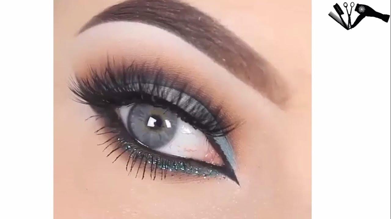 33d1687b8b9a0 جديد مكياج عيون جد روعة طريقة سهلة جدا لرسم وتحديد العيون بدقة كبيرة ...