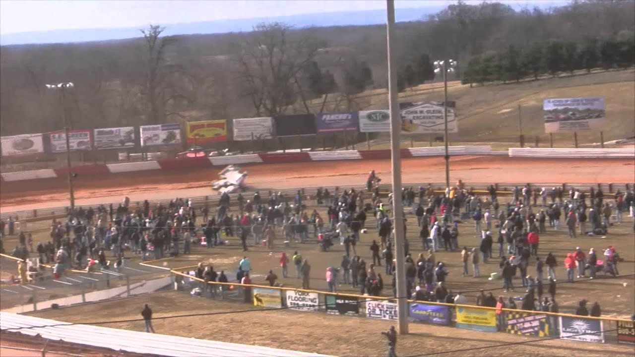 Lincoln Speedway 410 Sprint Car 4K Footage Test 10-11-14 - YouTube