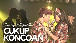 Syahiba Saufa ft James Ap - Cukup Koncoan (Live Music)