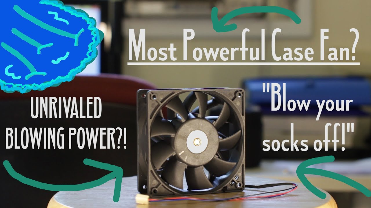 MOST POWERFUL Case FAN?! -- PC Fan on STEROIDS! -- Review
