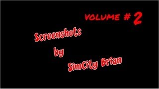 SimCity Screenshot Collage - Volume 2 by SimCity Brian