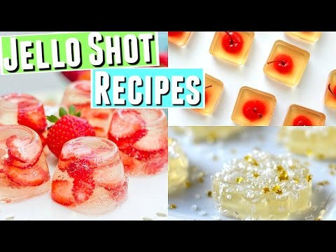 New Years Eve Jello Shot Recipes, Quick And Easy Jello Shot Recipes Incl. Nonalcoholic Jello Shots