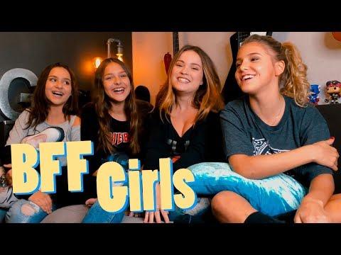 DESAFIOS EM 7 SEGUNDOS feat. BFF GIRLS - Raissa Chaddad
