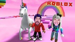 Roblox: MIT EINHORN AUS ZUCKERWATTEN WELT ENTKOMMEN - Unicorn Obby