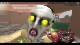 Roblox: Shi No Numa... watch me get to round 15 completely alone