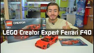 LEGO® Creator Expert Ferrari F40 10248 I Review