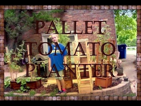 Ordinaire Pallet Tomato Planter