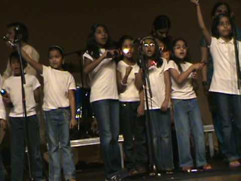 Over 30 kids performing at Asha Fundraiser