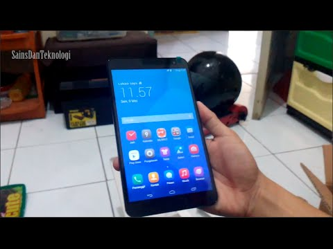 Tablet Murah 4G LTE Huawei Media Pad X1 - Unboxing