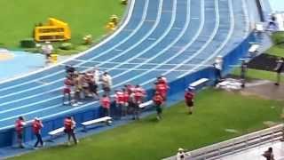 Чемпионат мира по легкой атлетике. Москва 2013. 100 метров. Финал. Усейн Болт (Usein Bolt)