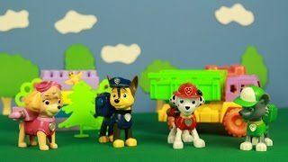 Щенячий патруль играет в прятки - Видео для детей