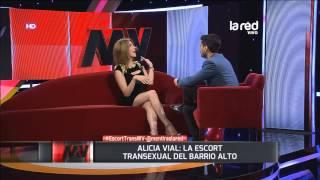 """Alicia Vial: """"Que más morboso que una chica con una paleta ..."""