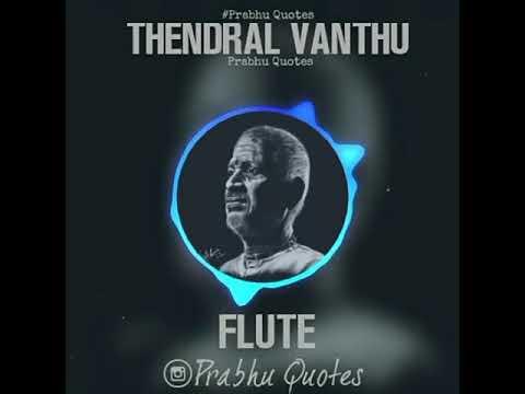 Thendral Vanthu Theendum Pothu Song   Flute Music   Whatsapp Status