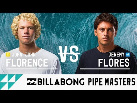 John John Florence vs. Jeremy Flores - FINAL - Billabong Pipe Masters 2017