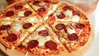 პიცა პეპერონი - როგორ მოვამზადოთ