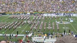 Badger Band at Lambeau Field