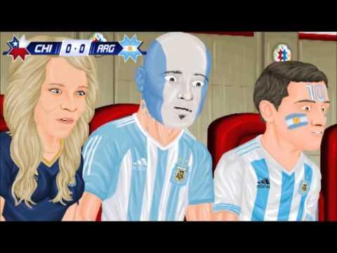 Copa America Cartoon 2015