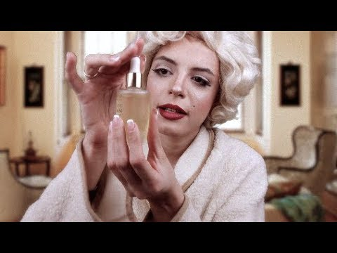 ASMR | A Very Marilyn Monroelplay (Lid Sounds, Soft Singing, Personal Attention)