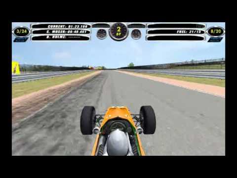 F1 Challenge VB || 1968 Season - Round 2 || Spain - Jarama || McLaren Ford || Race - 20 Laps