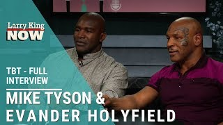 Download Mike Tyson & Evander Holyfield: Heavyweight Boxing Legends Join Larry Mp3 and Videos