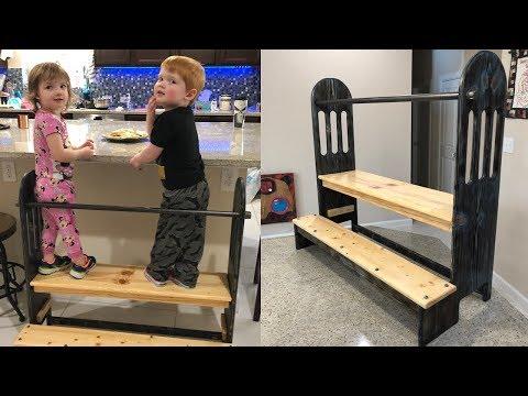 DIY Toddler Learning Station