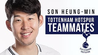 "Son Heung-min | ""Dele likes to play in goal!""  