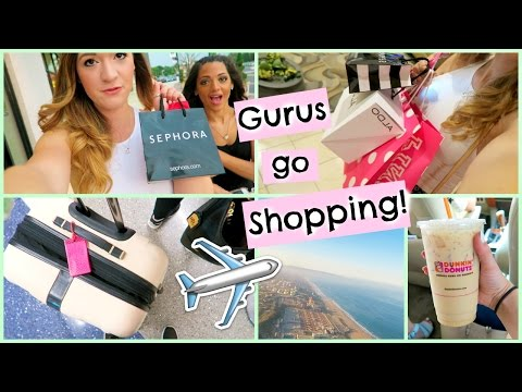 Beauty Gurus Go Shopping?! + Alisha Goes to Pennsylvania!!