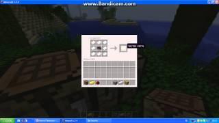 Обучение Minecraft #2-Как сделать поршень,карту,часы..