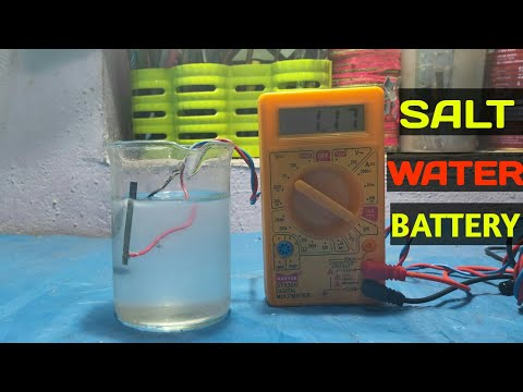 Magnesium And Carbon  Salt Water Batter | Salt Water Generator |Amazing Experiment